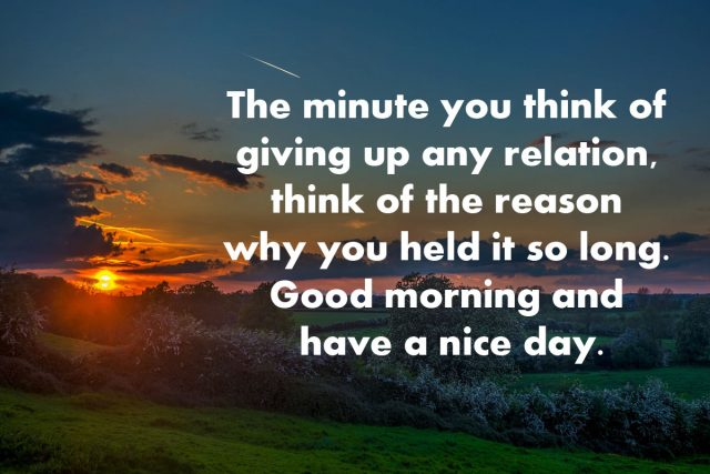 good morning images of nature with saying and quotes