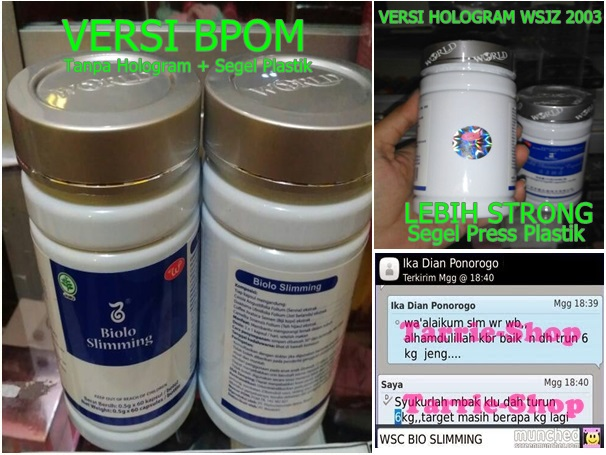 WSC Biolo World Slimming Capsules