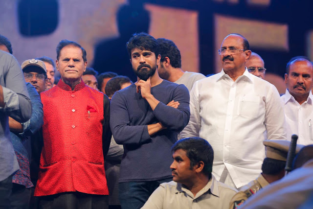 Ram Charan at Khaidi No 150 Pre Release Event Photos
