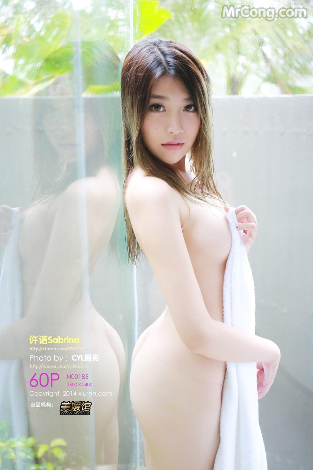 XIUREN No.185: Người mẫu Sabrina (许诺) (61 ảnh)