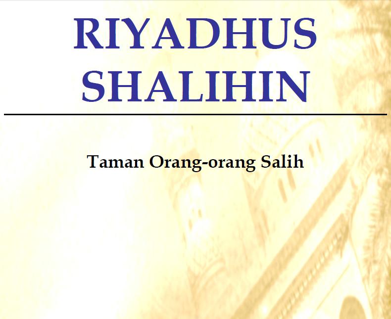 Terjemahan Kitab Riyadhus Shalihin Pdf