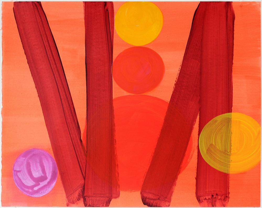 Flame and Summer - Mali Morris RA, Royal Academy Summer Exhibition 2017
