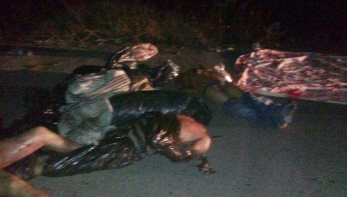 Fotografias 8 cuerpos decapitados en Tixtla; 27 ejecutados durante el fin de semana en Guerrero
