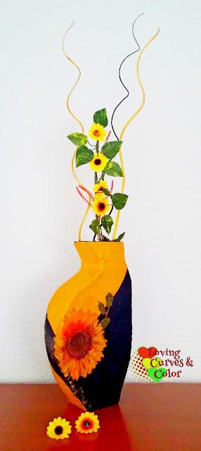 Decoupage -Vase-tutorial