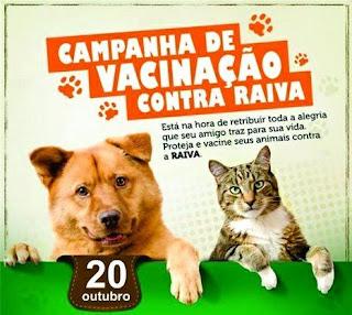 Secretaria de Saúde de Baraúna realiza Dia 'D' da Vacinação Antirrábica