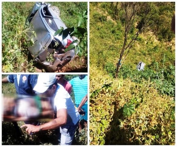 Chapada: Homem morre após carro cair em Ribanceira na Ba – 148