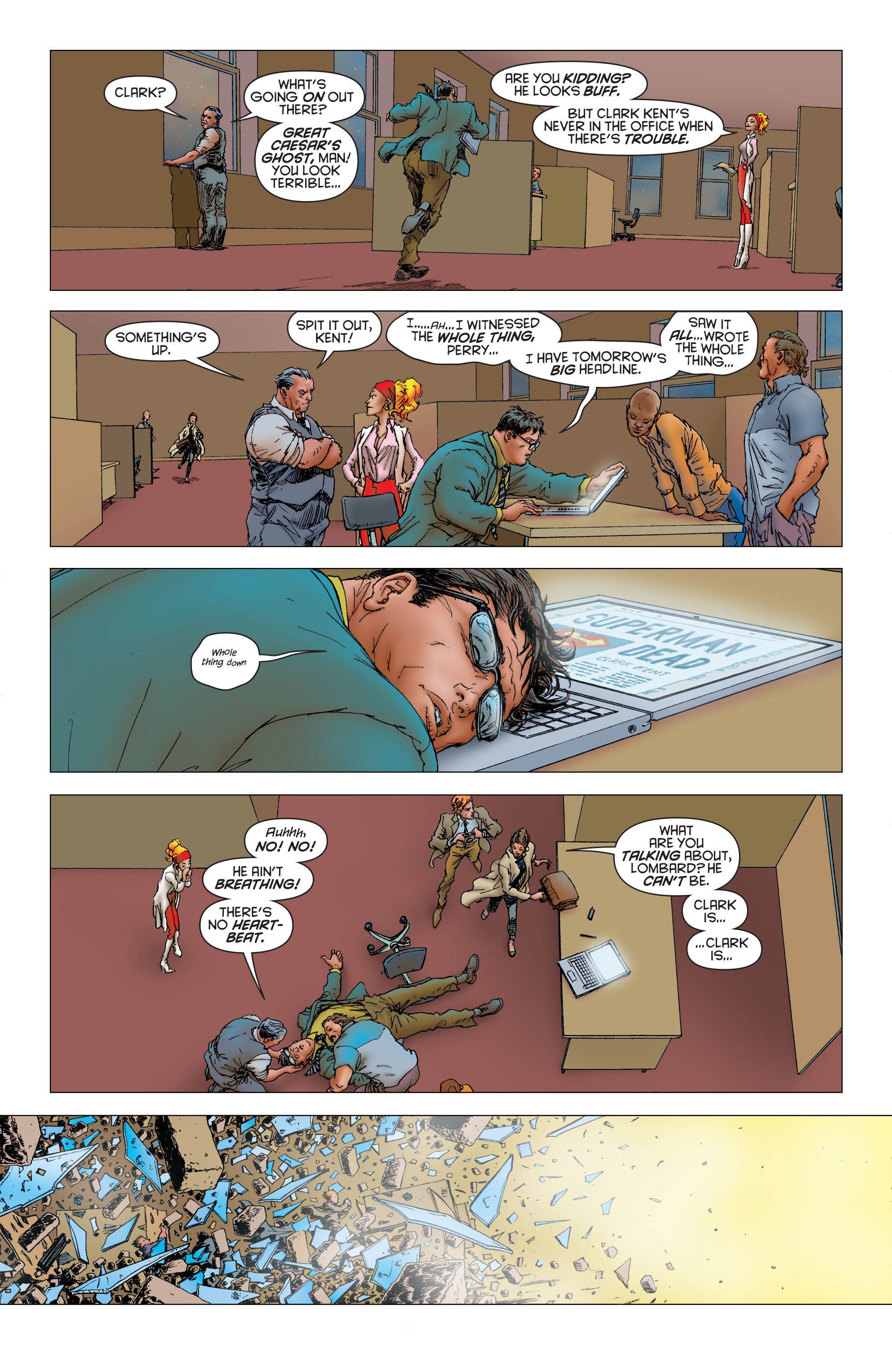 Read online All Star Superman comic -  Issue #11 - 22