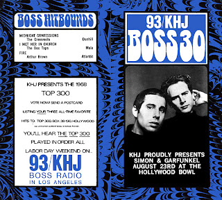 KHJ Boss 30 No. 164 - Simon & Garfunkel