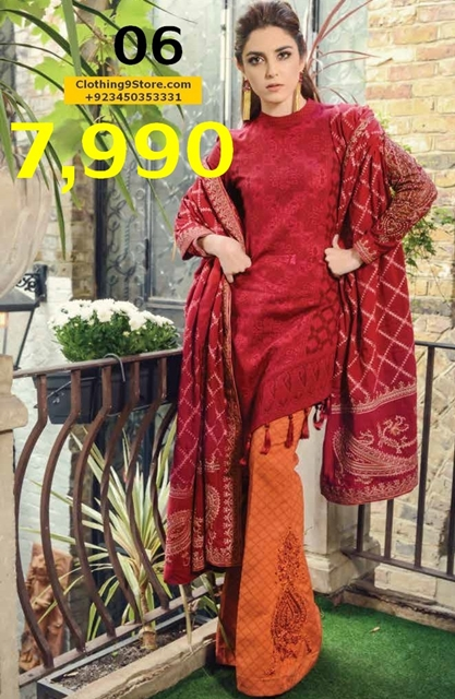 maria b winter party wear dresses with prices