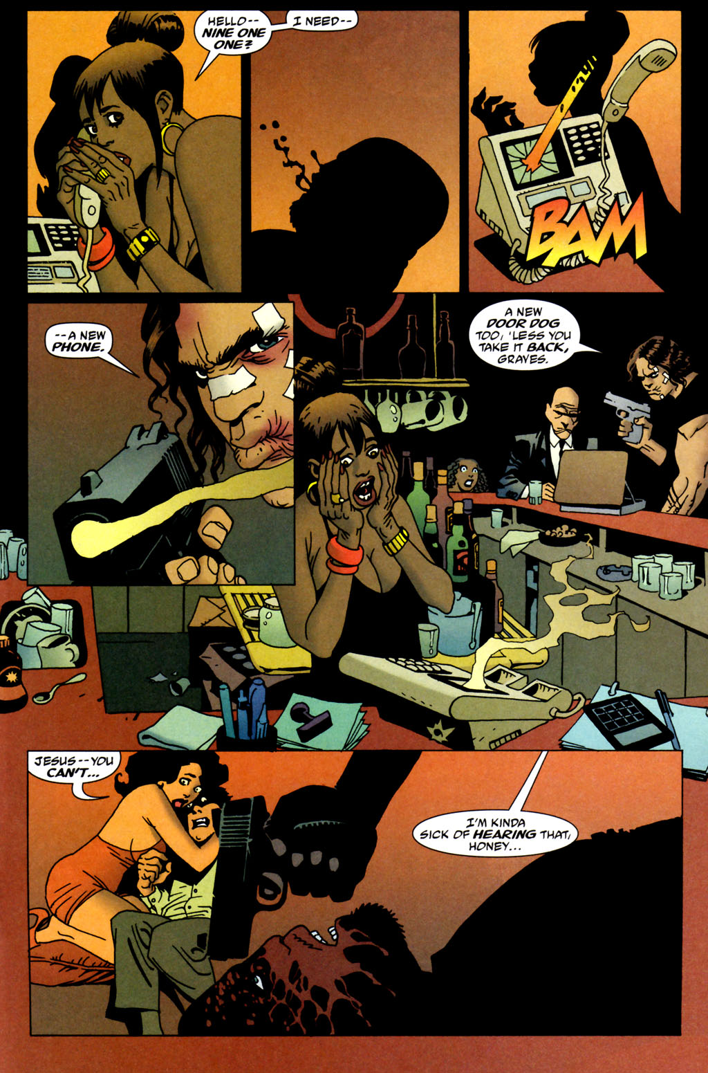 Read online 100 Bullets comic -  Issue #64 - 16