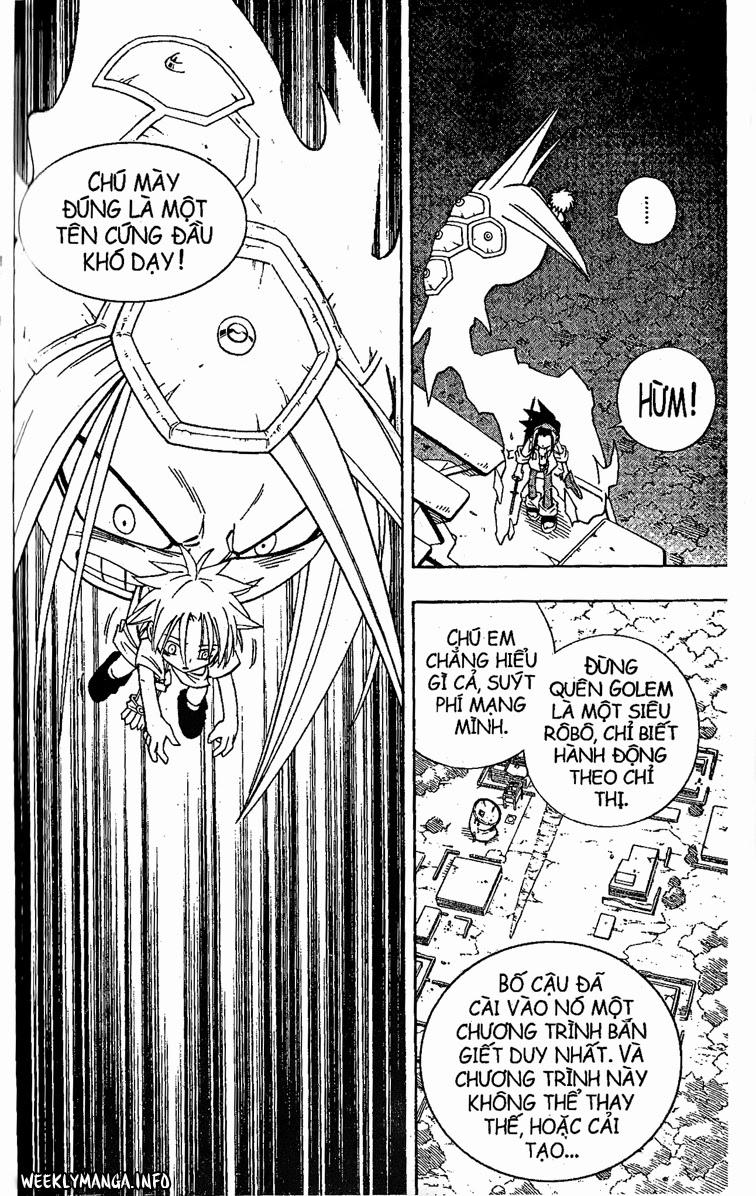 Shaman King [Vua pháp thuật] chap 193 trang 19