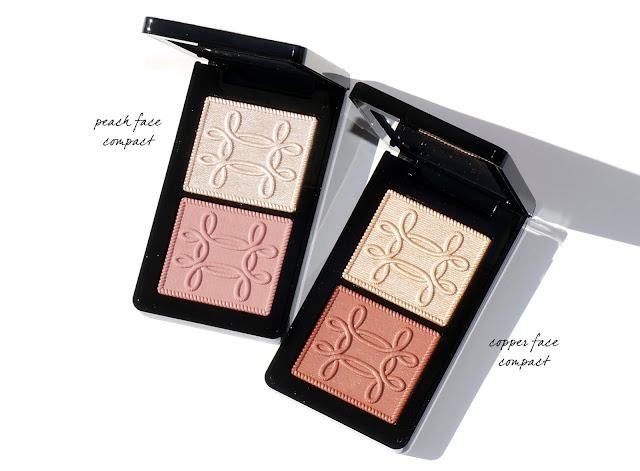 MAC Nutcracker Sweet - Peach and Copper Face Compacts