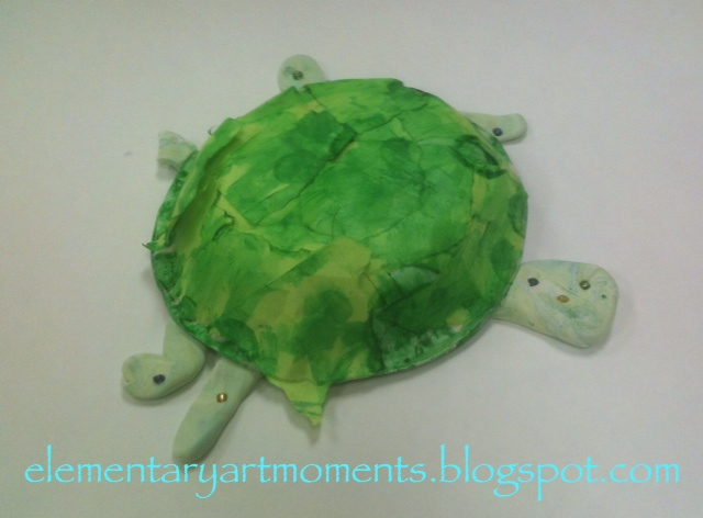 Ploughshare Tortoise Sculpture, Stage Two | Paper mache, Paper ... | 472x640