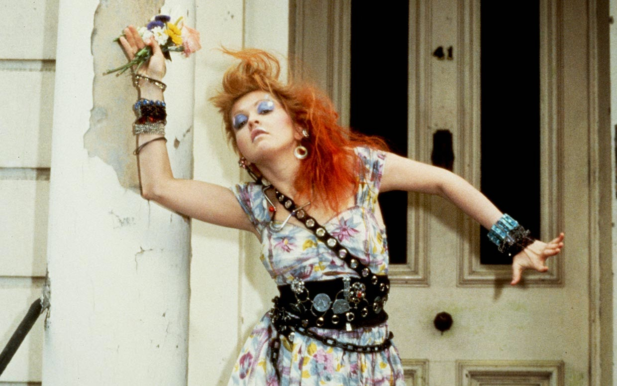 Cyndi Lauper in Girls Just Want To Have Fun