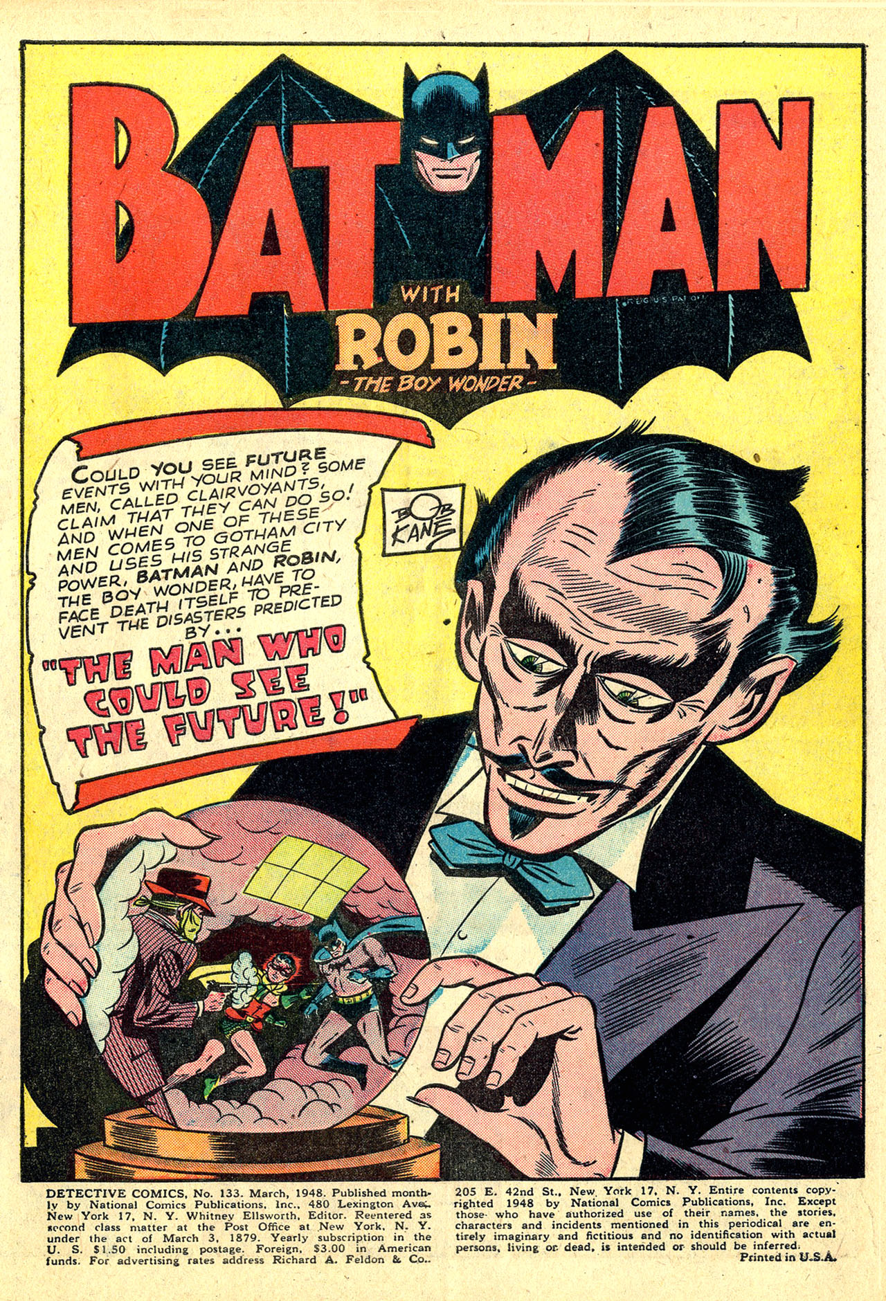 Read online Detective Comics (1937) comic -  Issue #133 - 3