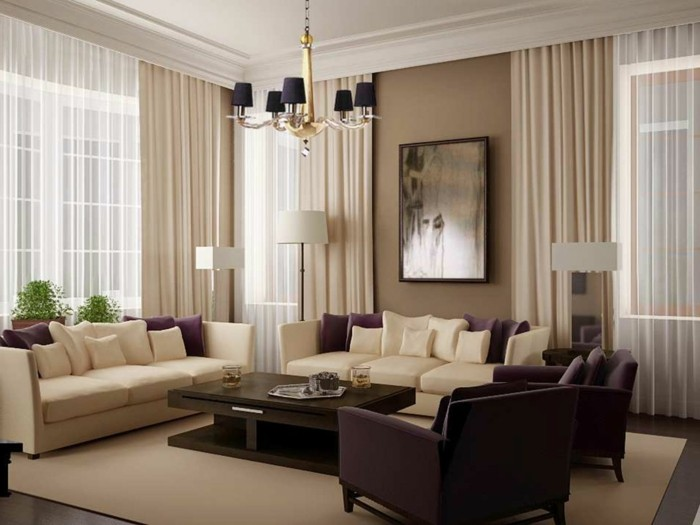 25 Modern Living Room Curtains Design Ideas 2016 | Living Rooms ...