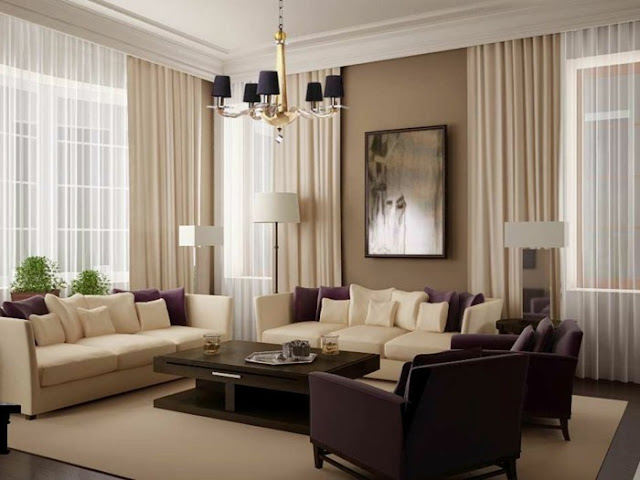 Small Living Room Curtain Designs Pictures