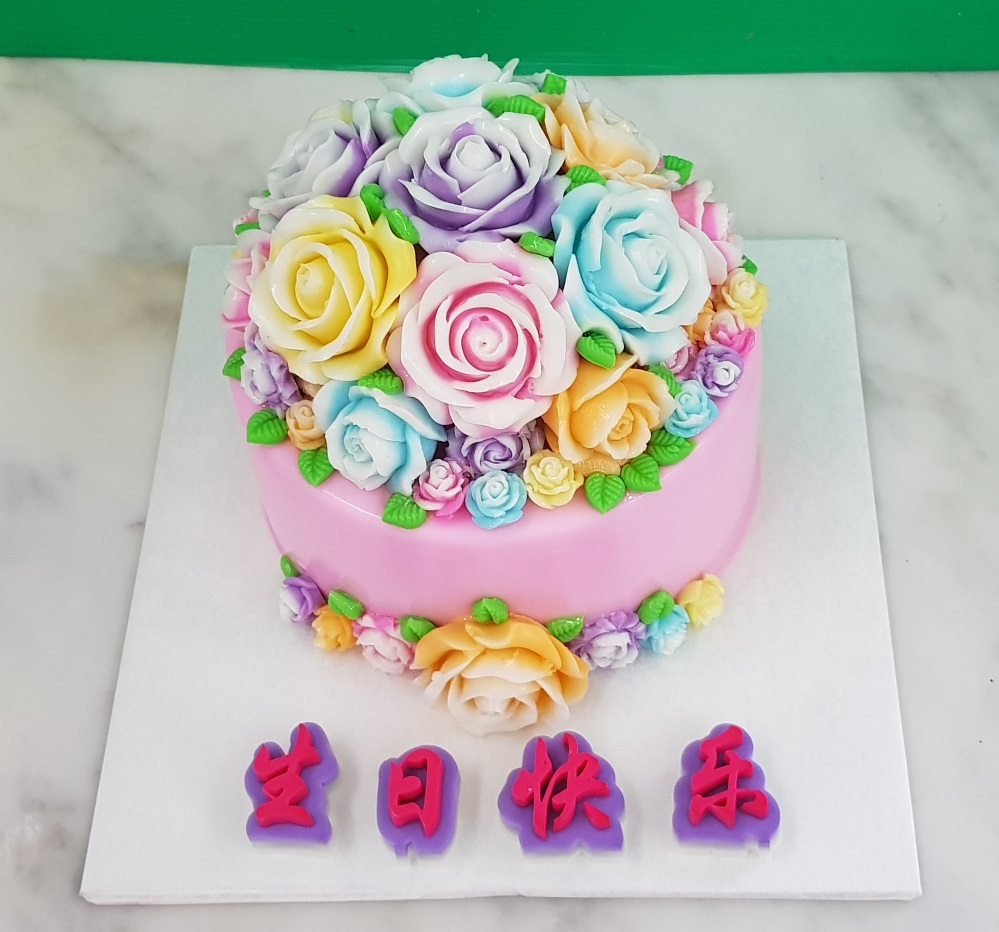 Yochanas cake delight dome shaped roses dome shaped roses izmirmasajfo