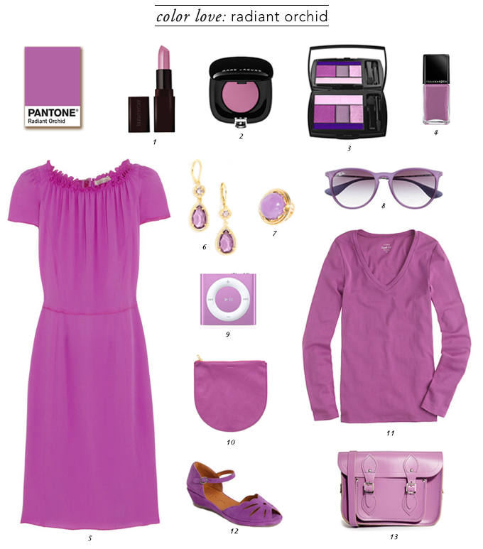 Pantone Color of the Year, Pantone Color of the Year Radiant Orchid