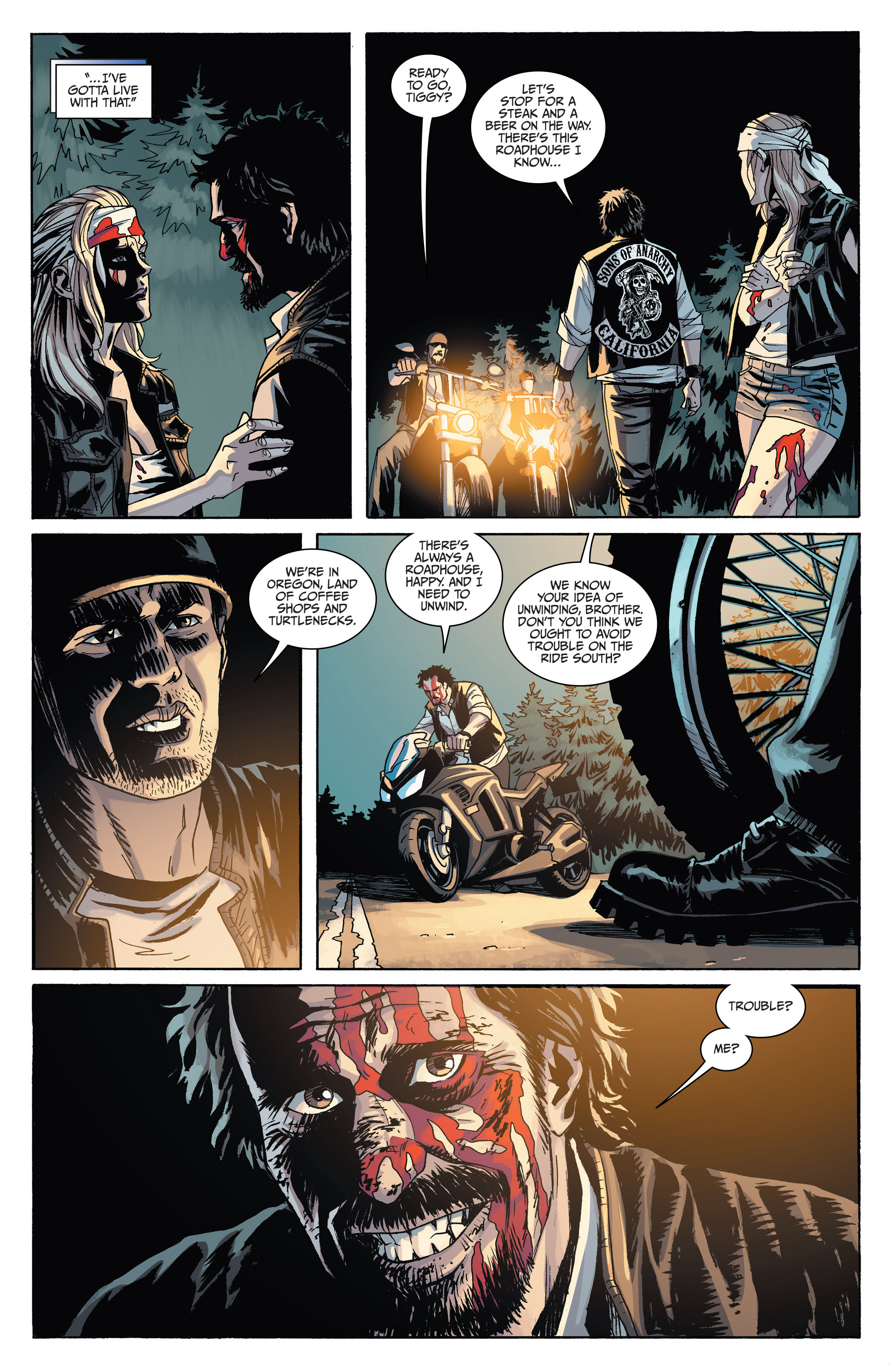 Read online Sons of Anarchy comic -  Issue #6 - 26