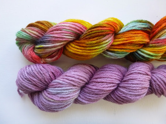 Dyeing Yarn with Food Color and Kool-Aid