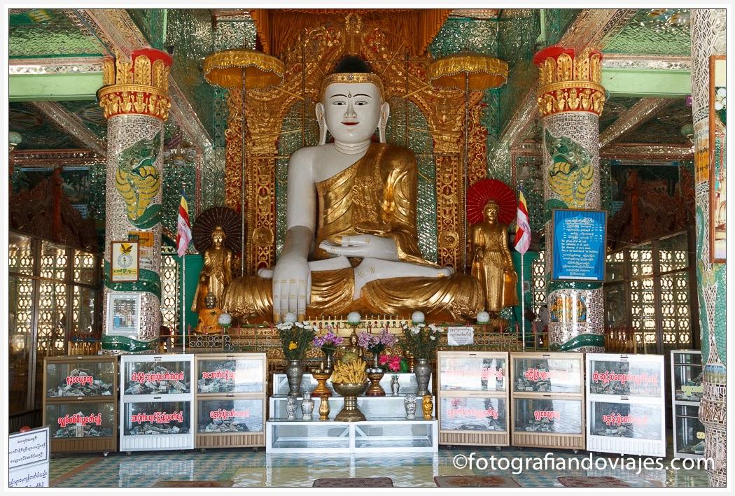 interior Pagoda Soon Oo Pon Nya Shin
