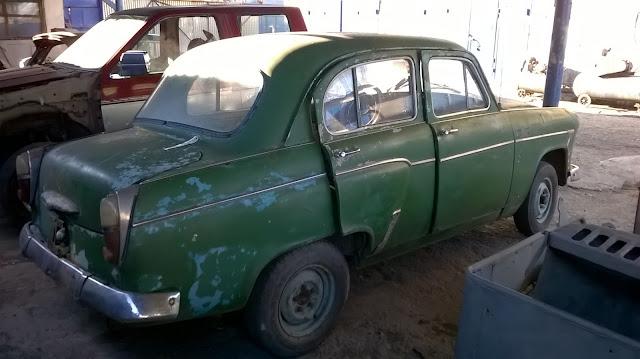 Реставрация Москвич 403