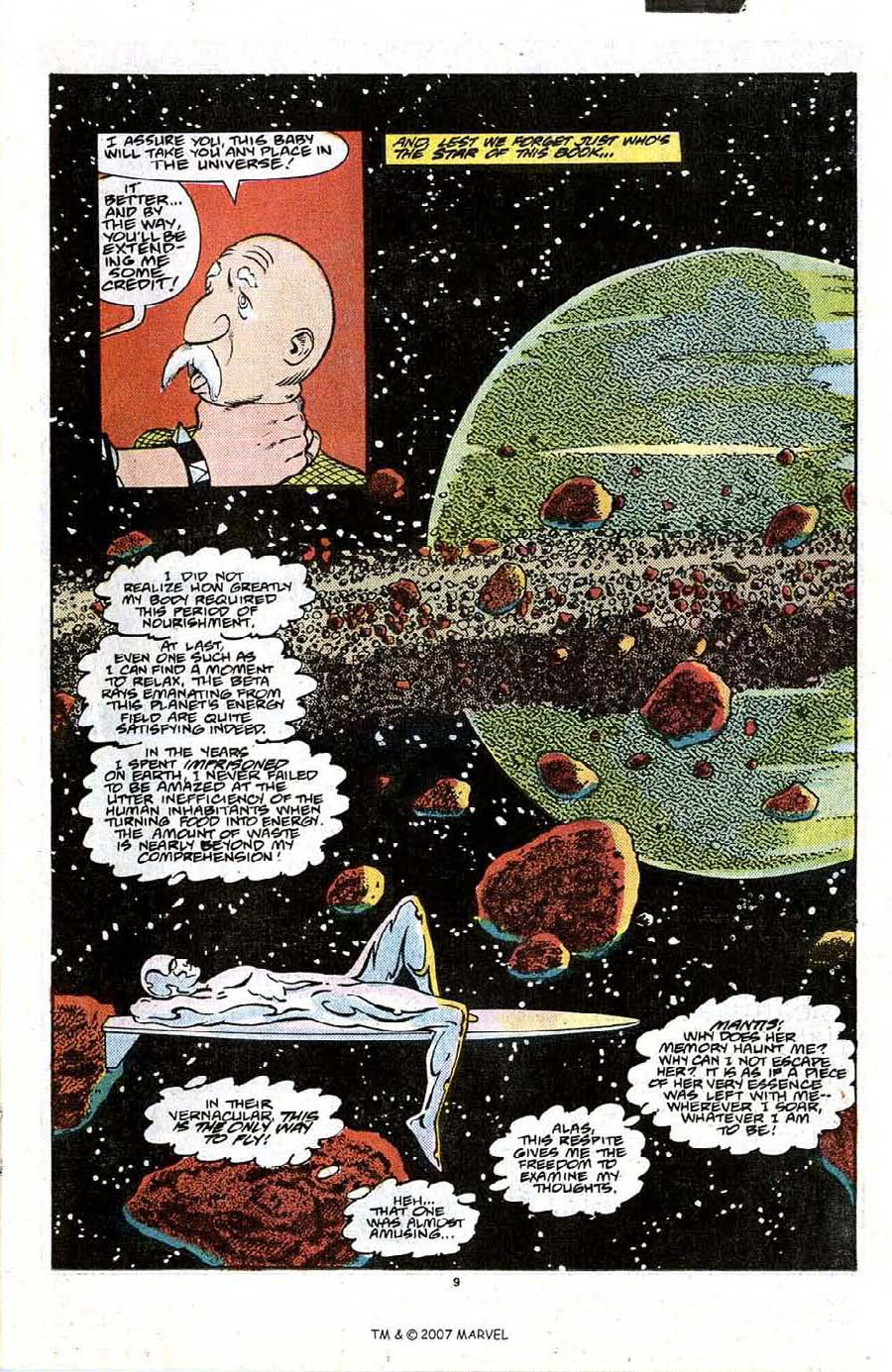 Read online Silver Surfer (1987) comic -  Issue #21 - 11