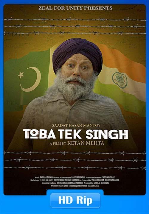 Toba Singh (2018) Hindi HEVC HDRip 125MB Download