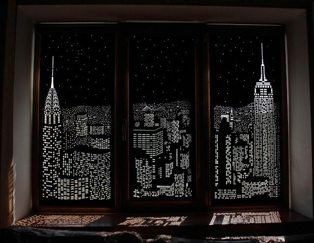 perforowane rolety na okna