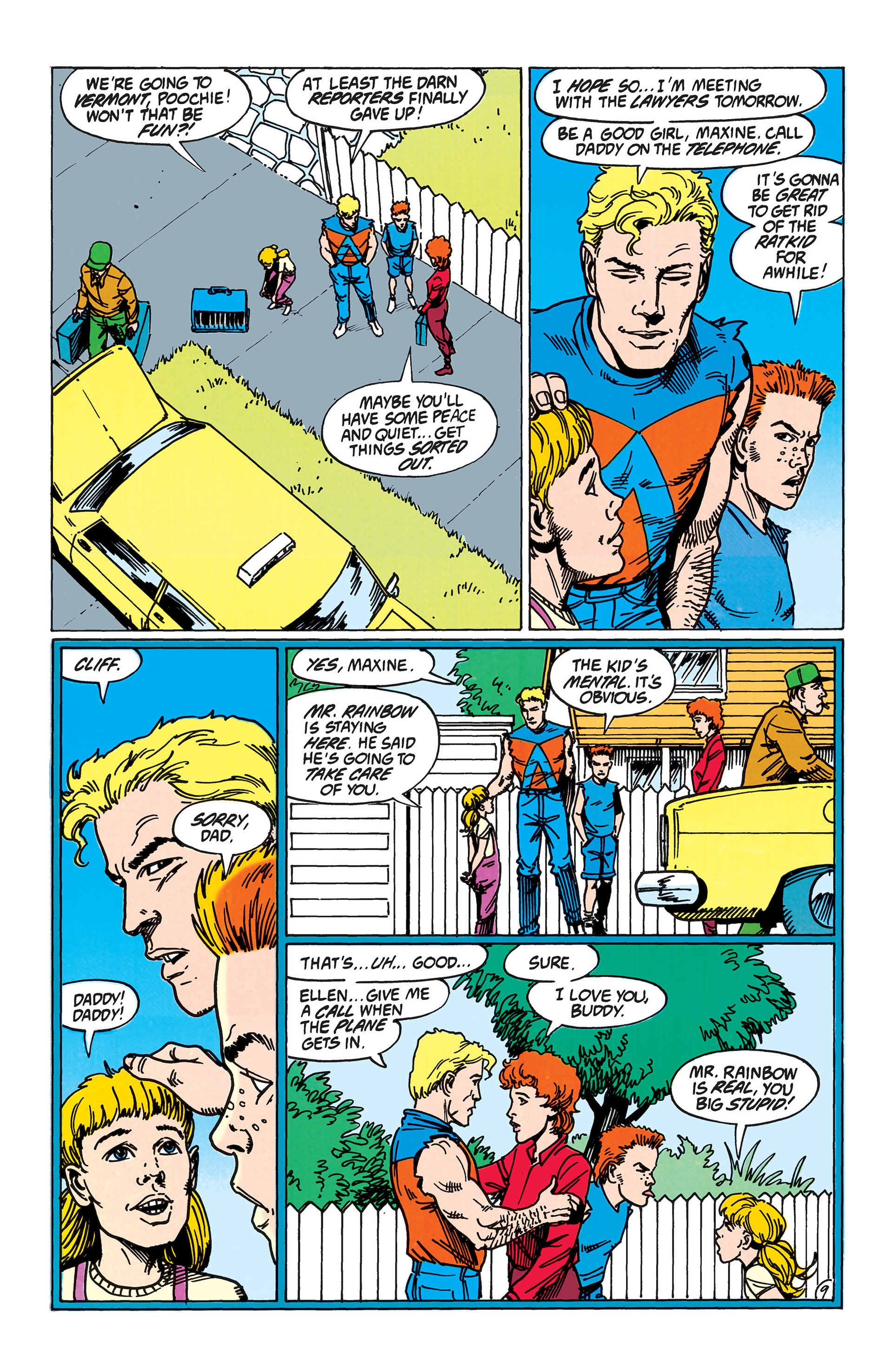 Read online Animal Man (1988) comic -  Issue #38 - 10