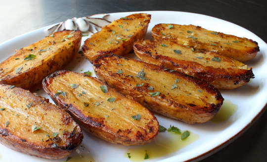 Food Wishes Video Recipes Roasted Lemon Pepper Potatoes The Side