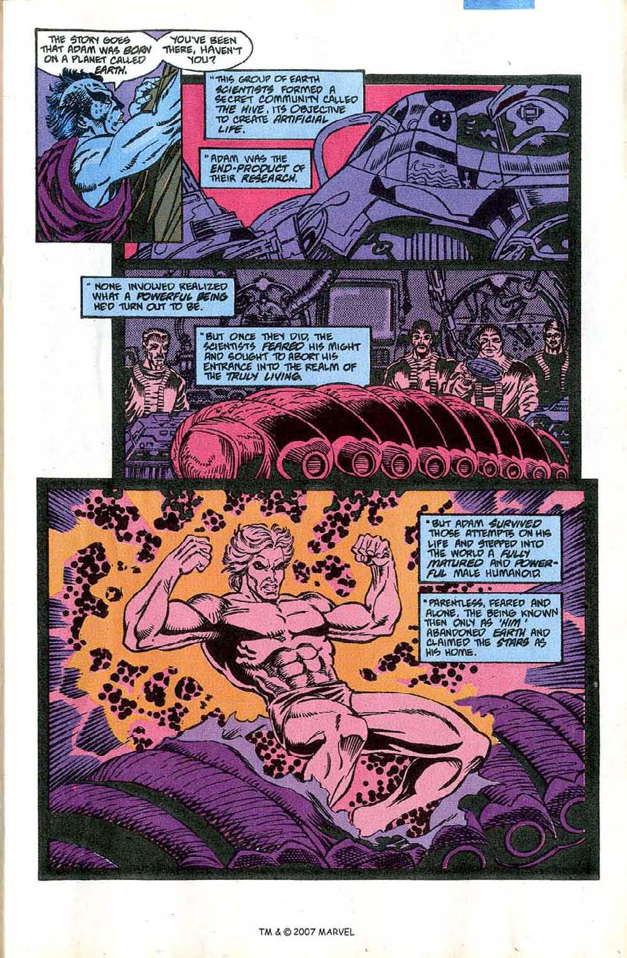 Read online Silver Surfer (1987) comic -  Issue #46 - 17