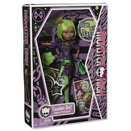 MH Dawn of the Dance Clawdeen Wolf Doll