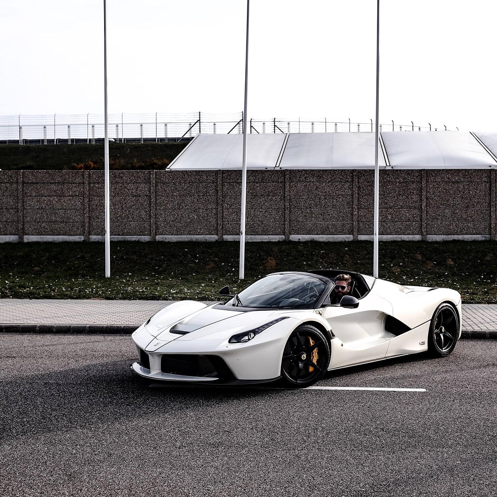 White Ferrari: Josh Cartu's White LaFerrari Aperta Is Simply Breathtaking