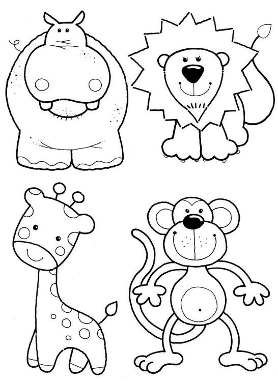 dia dos animais desenhos atividades exercÍcios colorir iv pintando