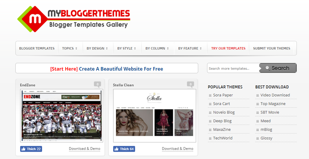 Mybloggerthemes.com
