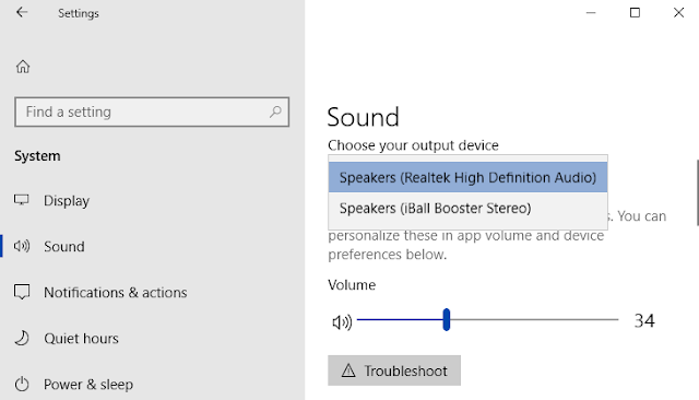 How to Change Default Sound Device on Windows 10