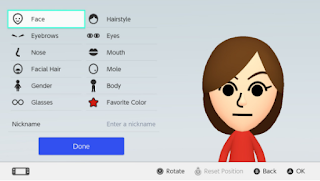 Nintendo Switch Mii Ideas