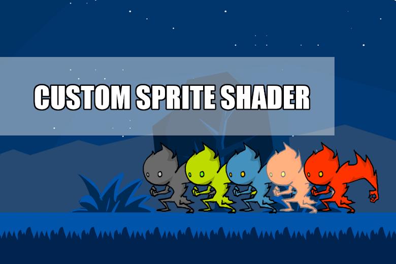 客製化專屬的 Sprite shader
