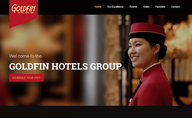 landing page free | Hotel, SPA, Bar- HTML Landing Page