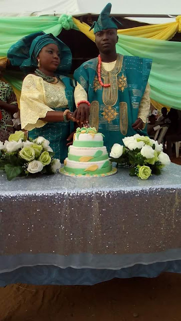 Popular Blogger Odusanwo Kazeem And His Wife Celebrates Their 1Year Wedding Anniversary