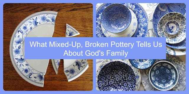 My Mismatched Dishes and How They Reflect God's Family.