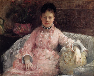 Berthe Morisot - The Pink Dress