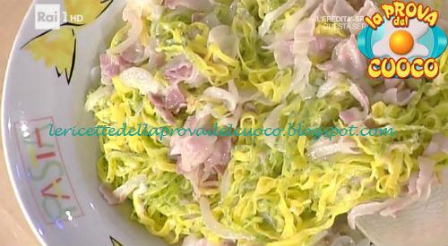 Paglia e fieno con pancetta e vino bianco ricetta Spisni da Prova del Cuoco