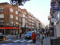 Caminando por Marylebone High Street.