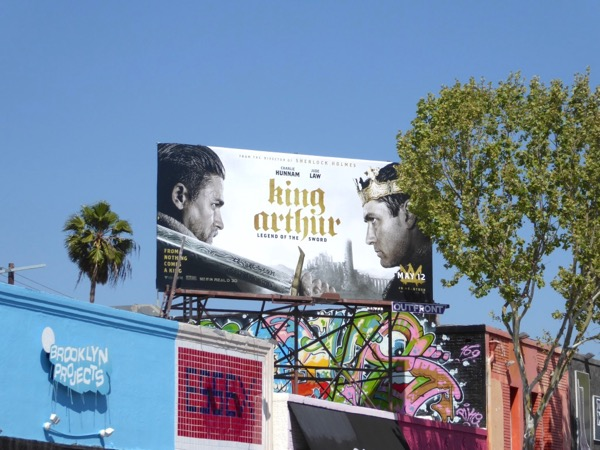 King Arthur Legend of the Sword billboard