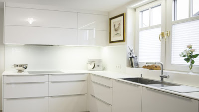 Küche Weiß Hochglanz Gebraucht