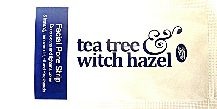 Boots Tea Tree and Witch Hazel Facial Pore Strips