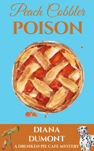 book cover, Peach Cobbler Poison by Diana DuMont
